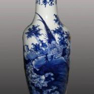 景德镇特色青花陶瓷大花瓶订做图片