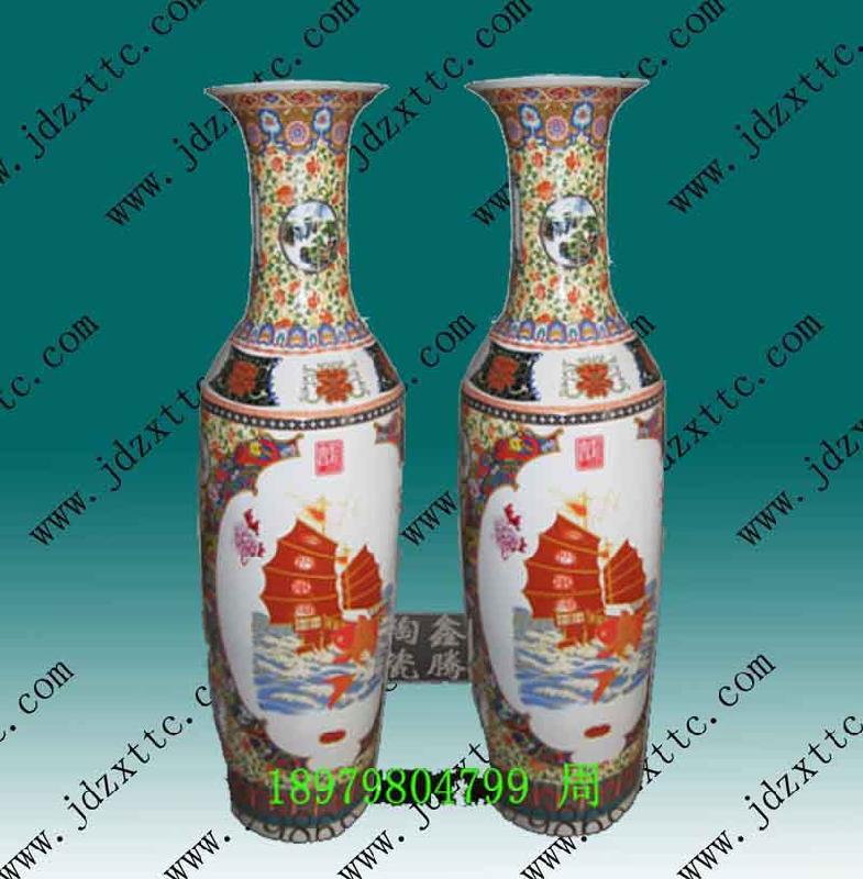 陶瓷花瓶图片 陶瓷花瓶样板图 陶瓷花瓶 景德镇市高新区鑫...