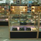 宜家展柜柜台精品透明玻璃化妆品展示柜