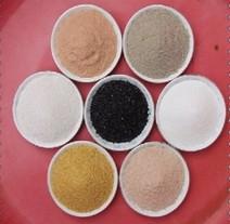 天然彩砂图片