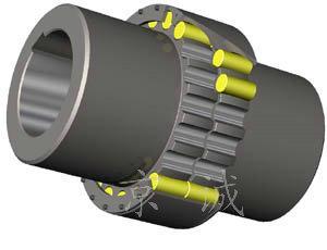 加工生产ZL型弹性柱销齿式联轴器