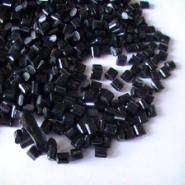 PP黑色高光耐冲耐寒特级再生料图片