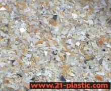 供应HDPE(矿泉水瓶盖)破碎料,粉碎料,废塑料,再生料,回料批发