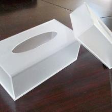 供应纸巾盒、有机玻璃纸巾盒、亚克力纸巾盒订做