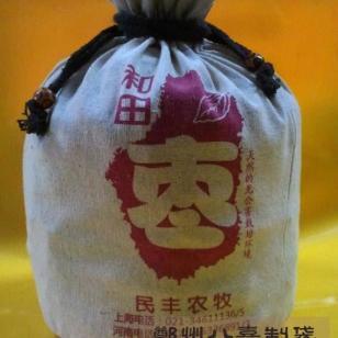 开封干枣棉布束口包装袋定做图片