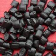 环保黑色PVC塑料颗粒PVC再生料图片