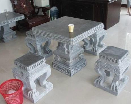 供应户外石桌石凳专业生产销售石桌石凳