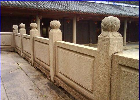 石栏杆是中国传统建筑外檐装修的一