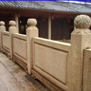 户外栏杆石栏杆石围栏石护栏图片