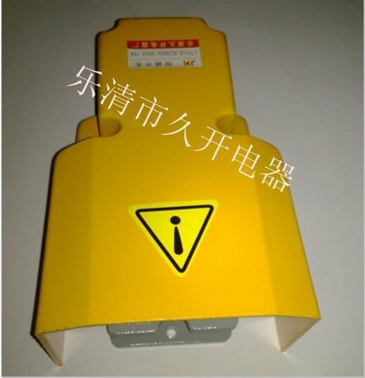 供应新乡LTH1/6脚踏开关铸铝外壳