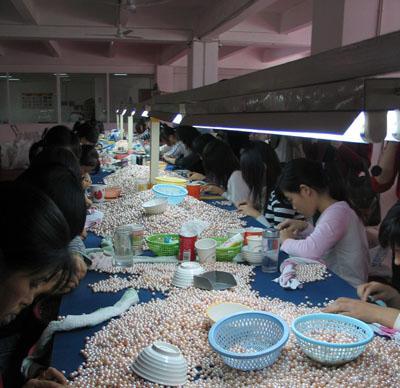 供应上海珍珠项链加工销售