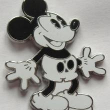 香港迪士尼卡通人物胸牌