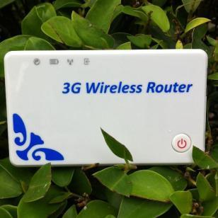 3G路由器内置SIM卡带电池图片