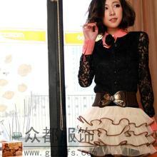 韩版蕾丝雪纺短裙尾货广州厂家积压便宜批发批发