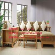 实木沙发纯榆木沙发图片