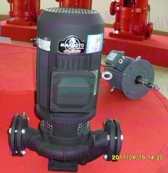 供应浙江源立水泵GD50-20立式管道泵 GD50-20立式管道泵批