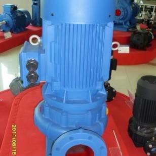 单级离心泵立式空调泵图片