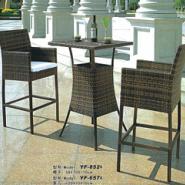 酒吧桌椅休闲阳台桌椅三件套组合图片