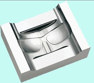西乡眼镜模具雕铣机图片