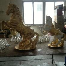 供应天然树脂工艺品马造型工艺品打造全国第一镀金工艺品图片