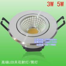 供应新品COB射灯2.5寸COB筒灯开孔7-8公分LED集成射灯图片