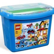 LEGO乐高玩具5508创意入门豪华桶图片