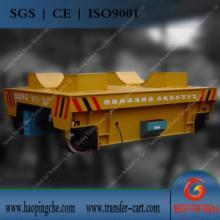 供應冶煉設備平板導軌車如何供電圖片