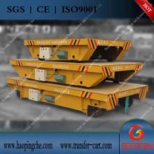 供應起重裝卸設備電動平板小車選型 圖片