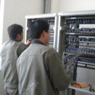 黄岛网络布线施工图片