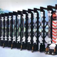 青岛城阳电动伸缩门的价格图片