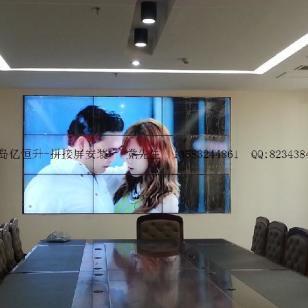 黄岛拼接屏专业安装图片