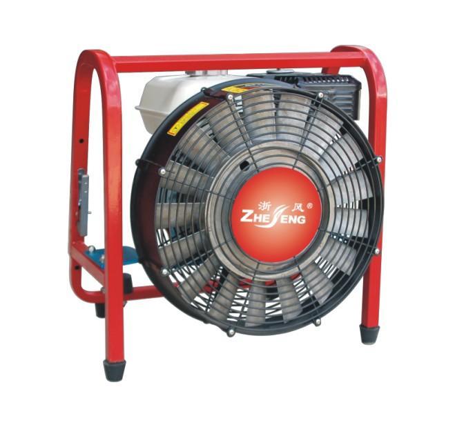供应40cm正压式涡轮消防排烟机风机应急消防救援设备 移动式