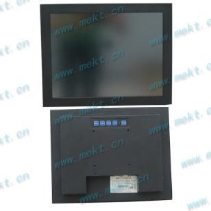 金属外观15寸工业触控显示器图片