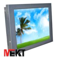 机柜嵌入式安装液晶触摸显示器MEKT图片