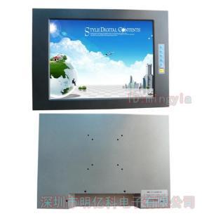 铝合金外观触摸液晶显示器15寸显示图片