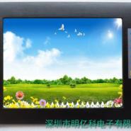 10寸触摸显示器铝合金外观显示器图片