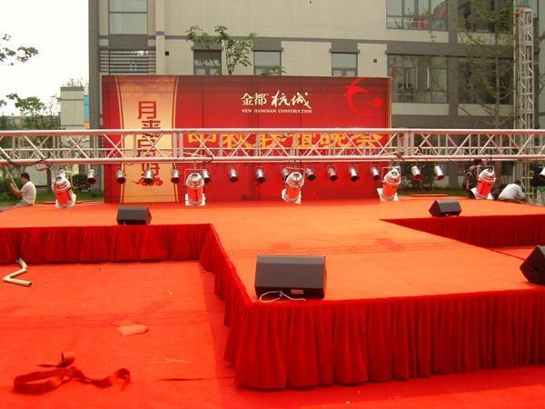 供应北京专业制作婚庆舞台背景板