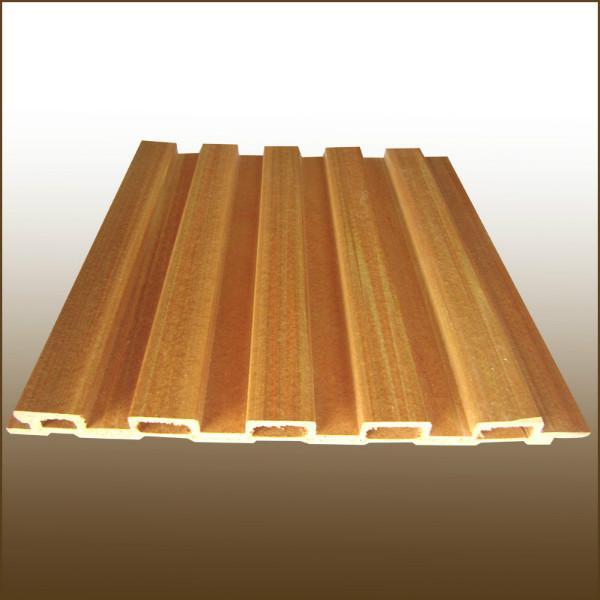 供应生态木墙板-木长城板安装