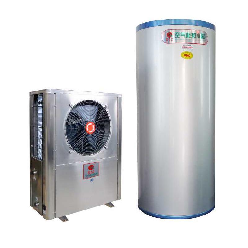 供应家用热泵热水器R417A冷媒家用水循环热水机 中国新时代空气能