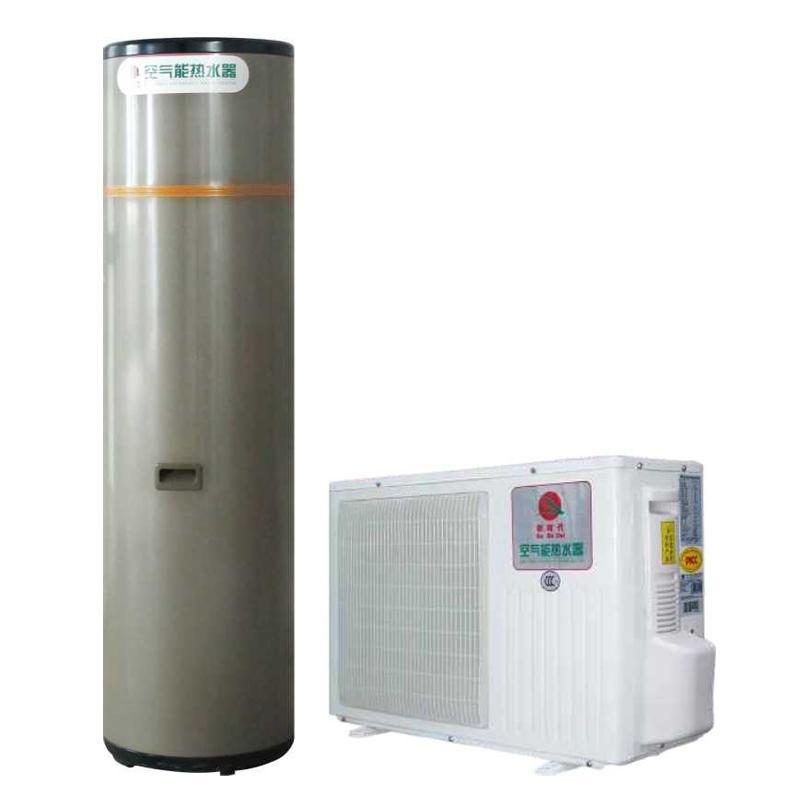 供应空气能热水器R417冷媒家用水循环热水机配方形水箱 中国新时代有