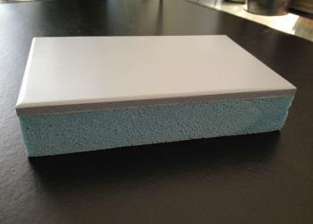 氟碳挤塑一体保温装饰板图片