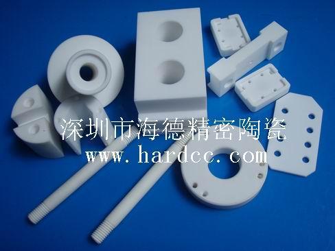 供应可加工陶瓷螺纹套陶瓷零件