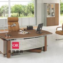 板式办公台BQR020017现货定做办公桌版式大班台老板桌椅配套图片
