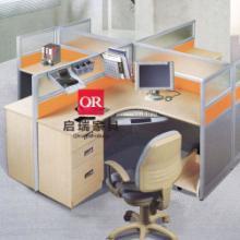 供应屏风办公桌BQR1505_定制职员组合办公桌_屏风隔断