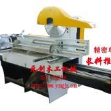 供应效率高多片锯双轴四轴单片推台锯,锯出木方表面光滑