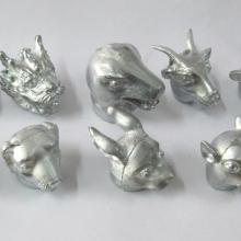 供应十二生肖动物工艺品摆件,十二生肖模型摆件,金属十二生肖工艺品摆件