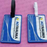 PVC软胶行李牌图片