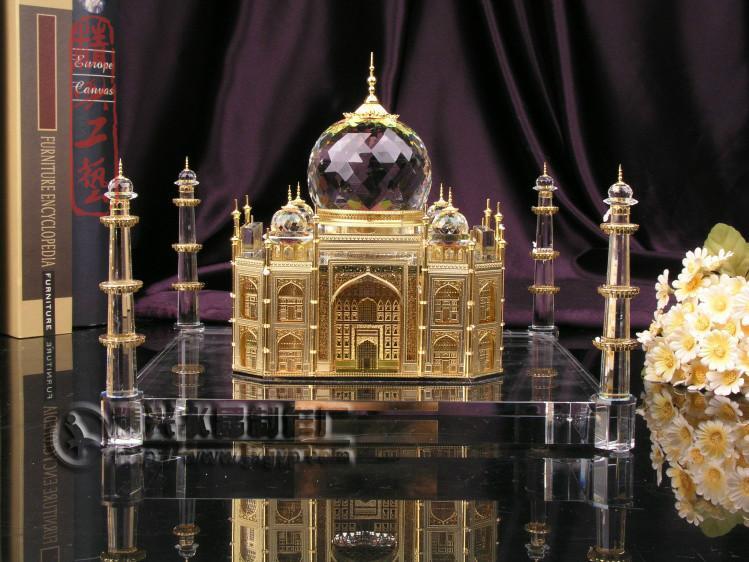 供应泰姬陵水晶3D模型