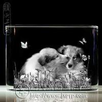 供应自然水晶内雕系列赠品纪念品
