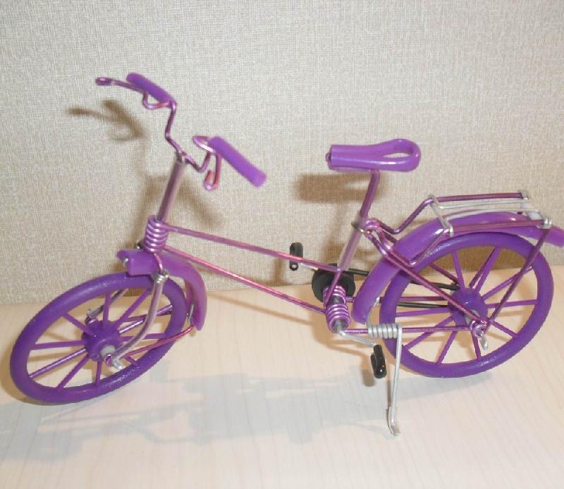 手工自行车铁丝单车创意产品图片大全